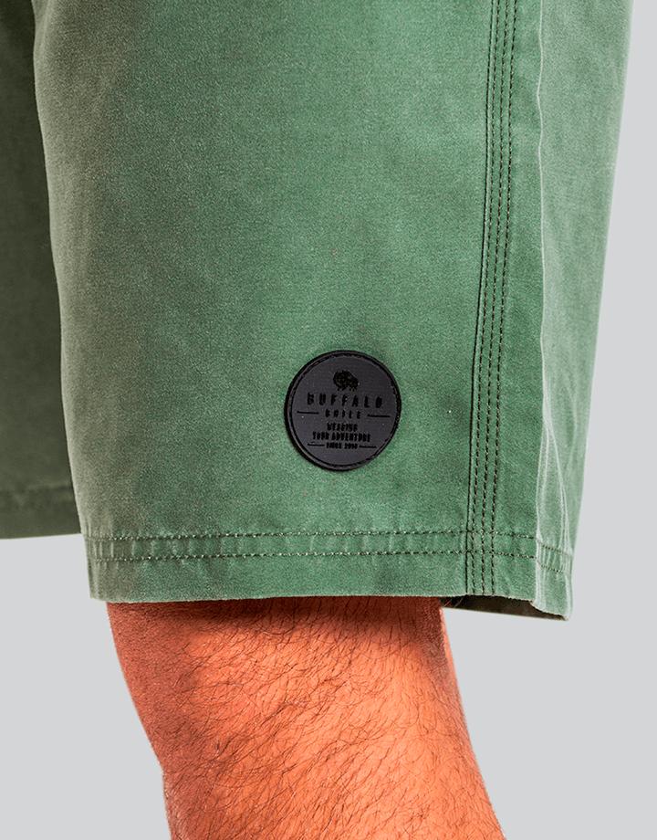 Buffalo Chile - Buffalo Board Short Verde Hombre 1