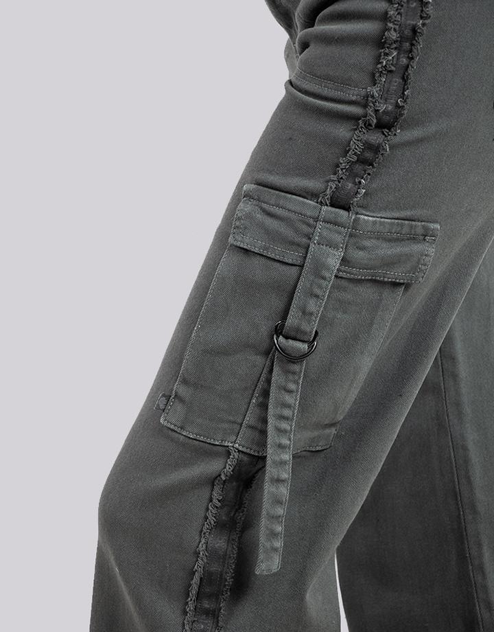 Buffalo Chile - Buffalo Flair Jeans Gris Mujer 5