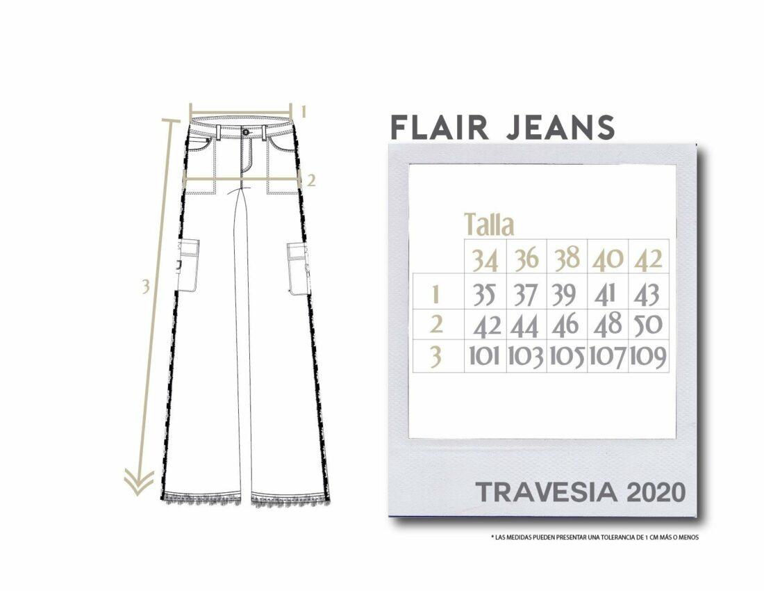Buffalo Chile - Buffalo Flair Jeans Mujer