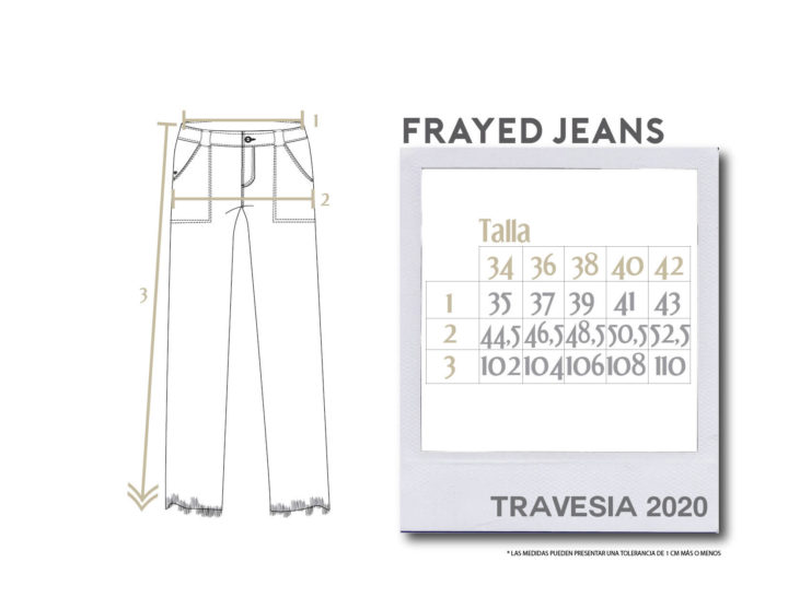 Buffalo Chile - Buffalo Frayed Jeans Mujer