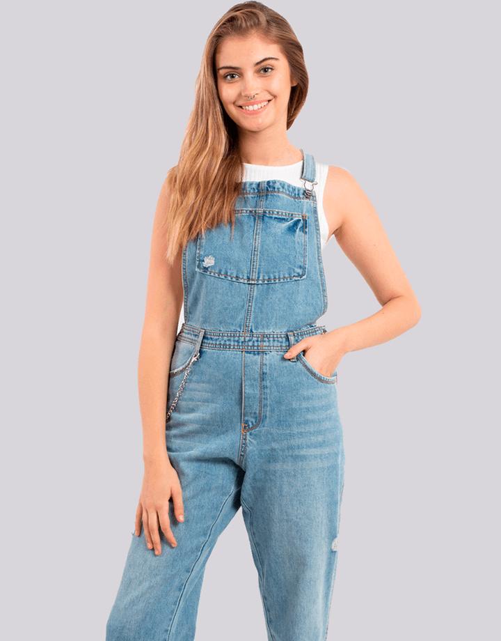 Buffalo Chile - Buffalo Jardinera Jeans Mujer 1