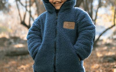 Chaqueta Chiporro Azul Aéreo Niños