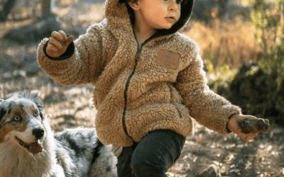 Chaqueta Chiporro Mostaza Niños