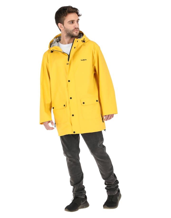 Buffalo Chile - Raincoat Hombre Amarillo 1