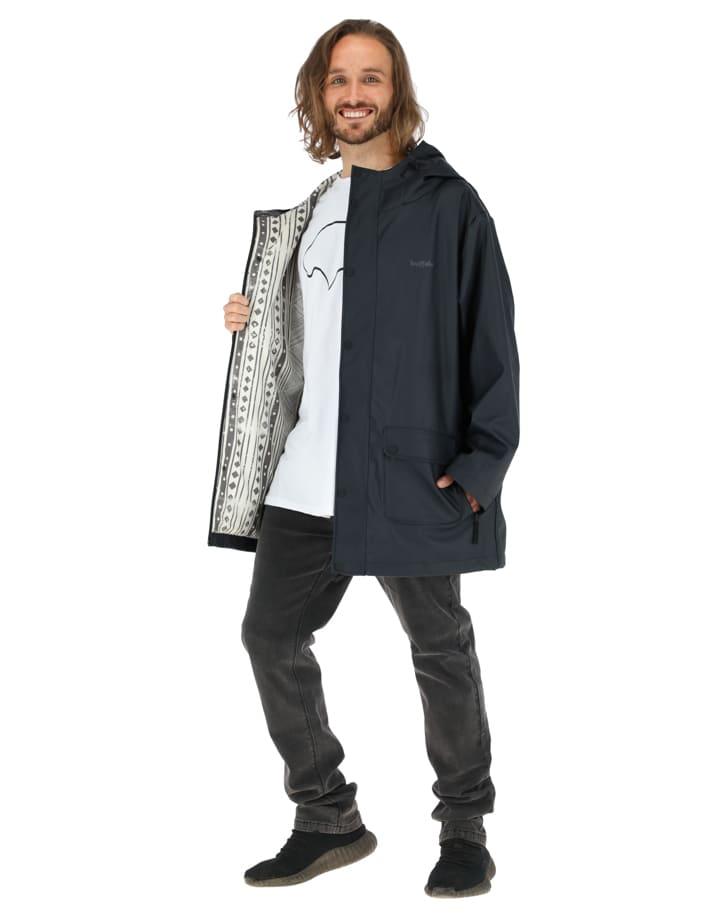 Buffalo Chile - Raincoat Hombre Negro 1