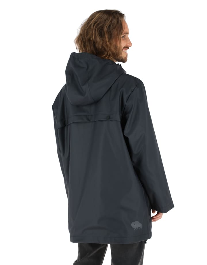 Buffalo Chile - Raincoat Hombre Negro 3