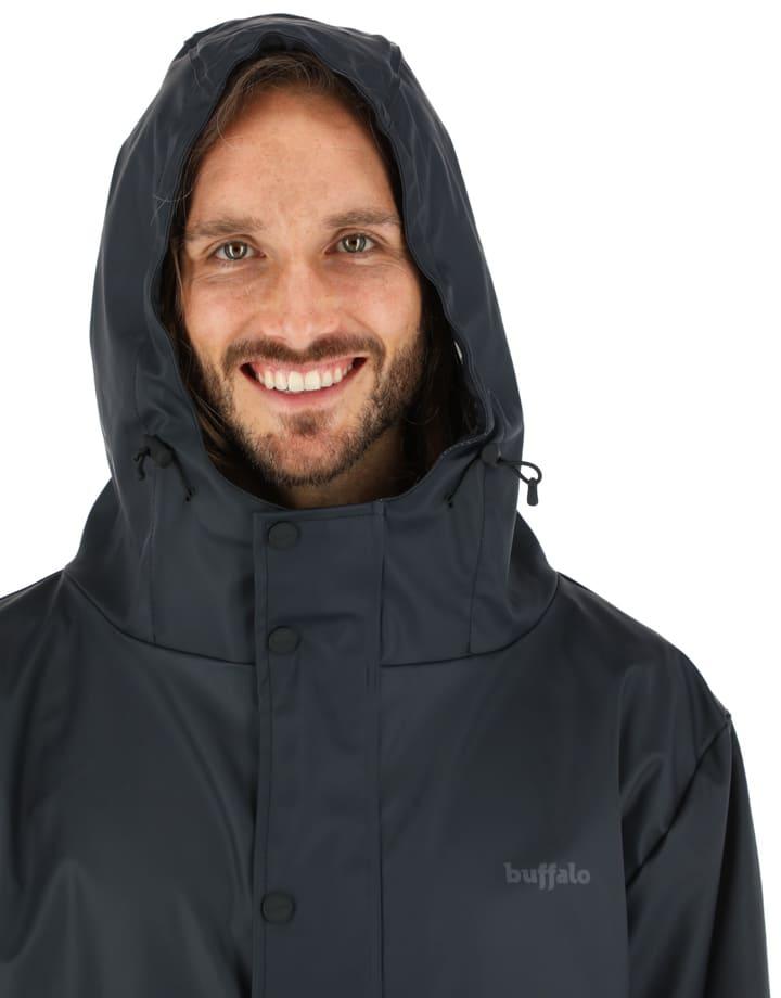 Buffalo Chile - Raincoat Hombre Negro 4