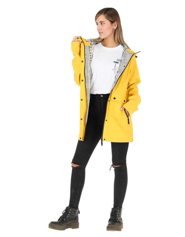 Buffalo Chile - Raincoat Mujer Amarillo 1