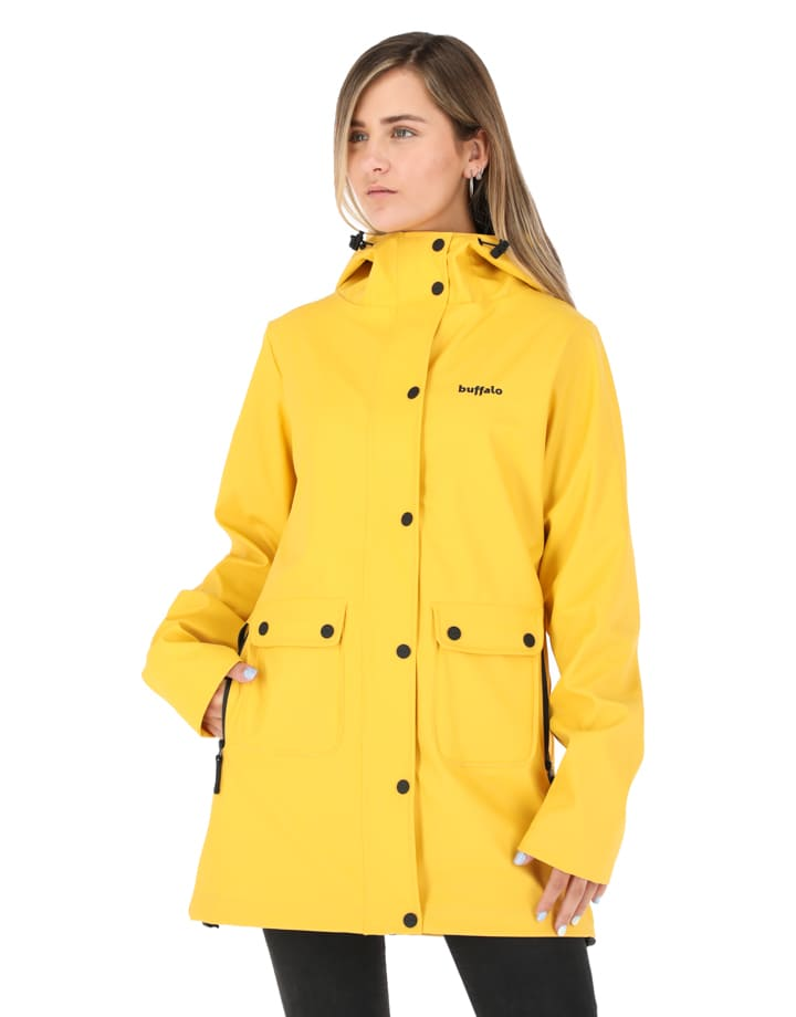 Buffalo Chile - Raincoat Mujer Amarillo 2