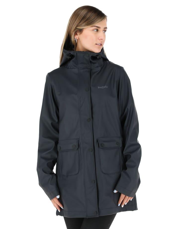Buffalo Chile - Raincoat Mujer Negro 2