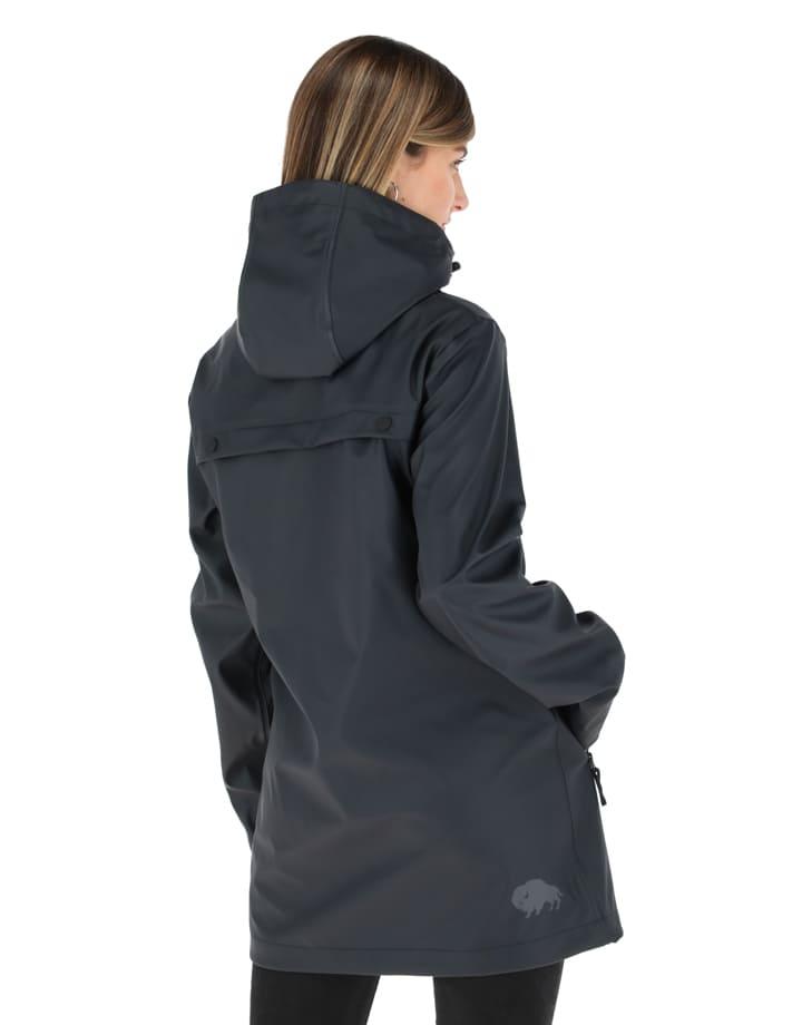 Buffalo Chile - Raincoat Mujer Negro 3