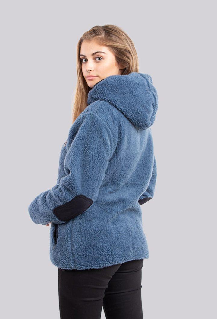 Chaqueta Chiporro Nac Buffalo Azul_Aero Mujer