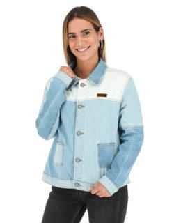 Buffalo Chile - buffalo chaqueta jeans grao mujer 1