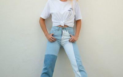 Jeans Corto Bocana Mujer