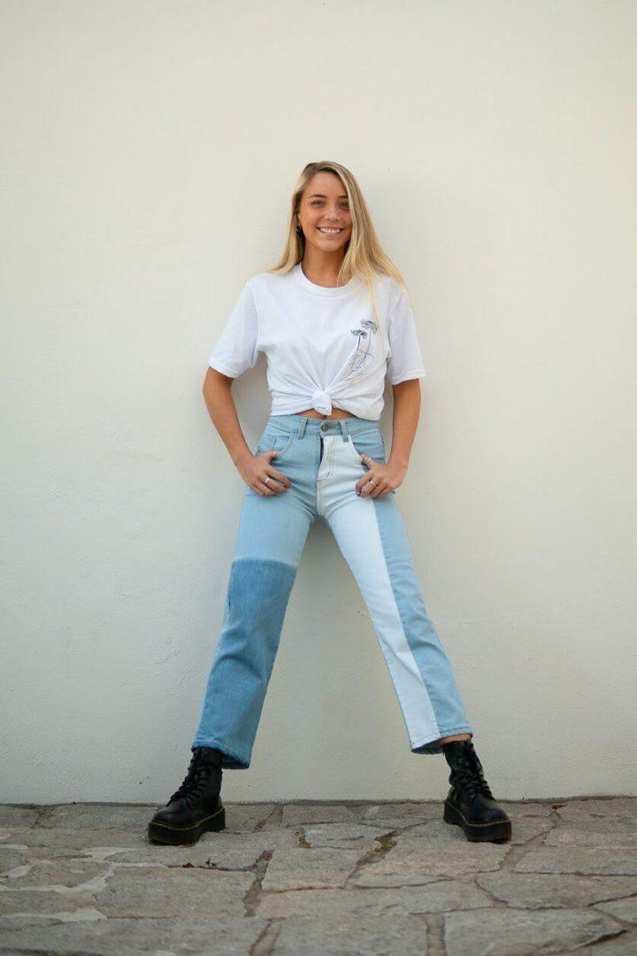 Buffalo Chile - buffalo jeans corto bocana mujer 1